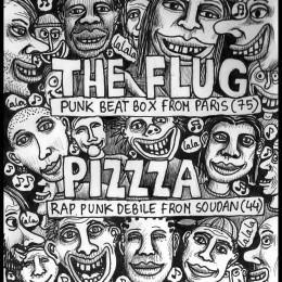 PIZZZA à RENNES le 14 MAI!!!