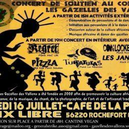 PIZZZA EN LIVE le 16 juillet!!! spécial danse africaine