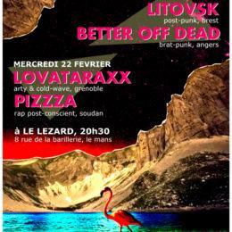 Pizzza au Mans le 22 fevrier! (et le 28 janvier à la zad)