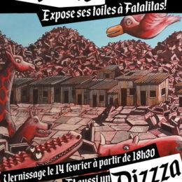 pizzza à paris le 14 fevrier!!!