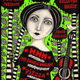 PIZZZA à BREST le 9 fevrier!