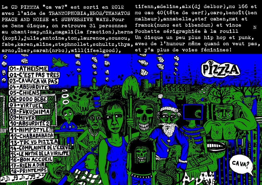 PIZZZA 3 CD présentation ca va