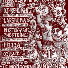 PIZZZA ON TOUR avec OZIBUT (paris, lille, bxl)!!!