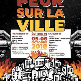 PEUR SUR LA VILLE (Vannes) le 5 et 6 oct 2018!!!