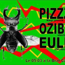 PIZZZA et OZIBUT le 5 mars à Lille!