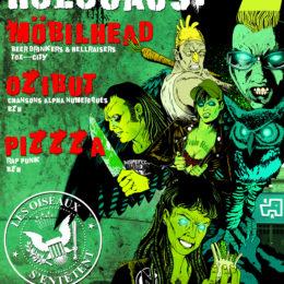 Pizzza et ozibut à liège le 7 mars 2020!!!